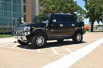2007 Hummer H2 LUXURY 2007 HUMMER H2 SUT LUXURY 30,100 Miles BLACK on BLACK