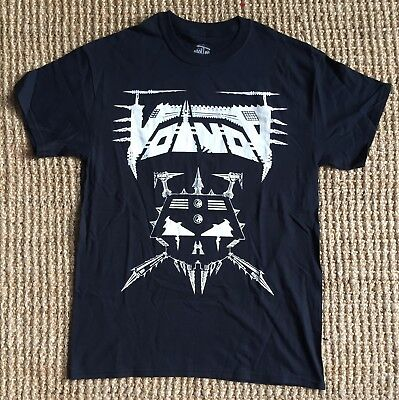 Voivod Classic Logo Thrash T-shirt Medium Black New