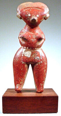 Pre-Columbian NAYARIT CHINESCA FIGURE, EX: SOTHEBY'S '78