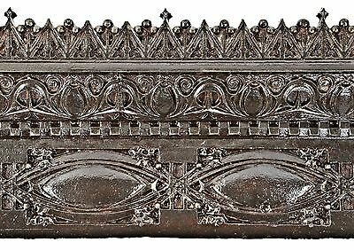 Cast Iron Louis Sullivan-Designed 19Th C. Gage Building Exterior Facade Section