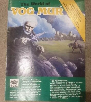 The World of Vog Mur module RPG Roleplaying ICE