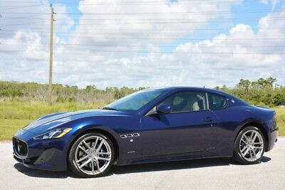 2015 Maserati Gran Turismo  2015 GRANTURISMO SPORT - ONLY 7,000 MILES - LOADED WITH OPTIONS-FACTORY WARRANTY