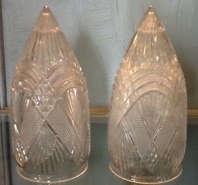 Antique Crystal Wall Vase/Sconce Art Deco