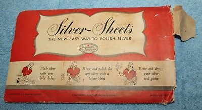 Vintage Silver-Sheets - The New Easy Way to Polish Silver