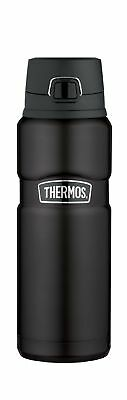 Thermos Stainless King 24 Ounce Drink Bottle Matte Black