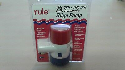 Rule 27S Fully Automatic 1100 Gph Bilge Pump