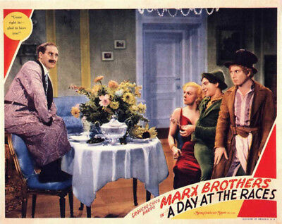 A Day at the Races poster photo - K2190 - Groucho Marx, Chico Marx & Harpo Mark