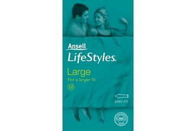 Ansell Lifestyles Large Condoms 12PK