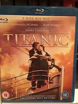 Titanic (Blu-ray, 2012, 2-Disc Set)