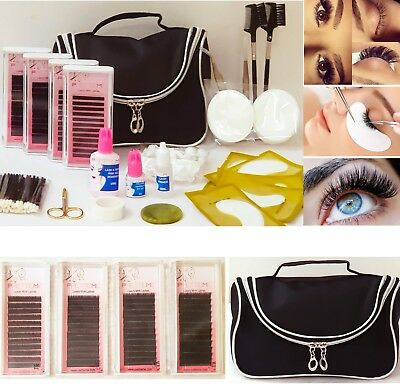 Individual Eyelash Extension Kit Semi Perm Individual Lashes Mink