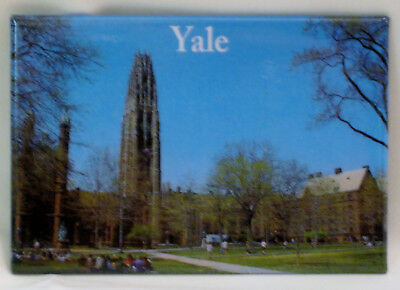 Yale University Dwight Chapel & Harkness Tower Magnet