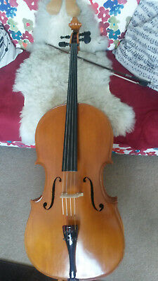 Beautiful 7/8 'Ladies size' Cello by Vlad Keppert 1976