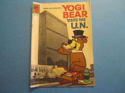 Dell Comics Yogi Bear Visits The Un #1349 1961 Hanna Barbara