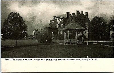 Postcard NC Raleigh North Carolina College Of Agricultural & Mechanical Arts UDB