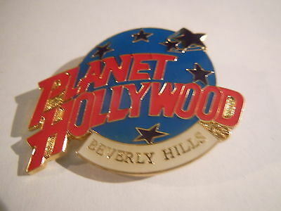 Planet Hollywood BEVERLY HILLS Blue Logo Pin