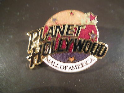 Planet Hollywood MALL of AMERICA TRI-COLOR Logo Pin