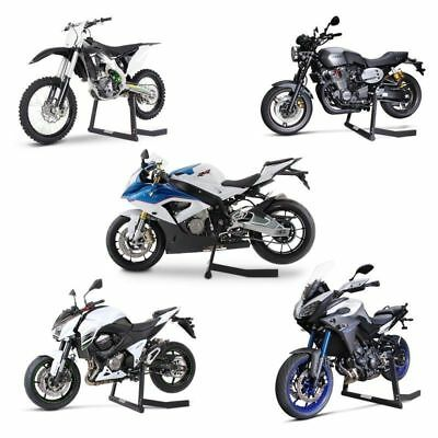 bike grab motorcycle stand paddock security garage rack floor wheel van race. Black Bedroom Furniture Sets. Home Design Ideas
