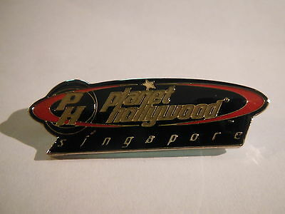 Planet Hollywood SINGAPORE Oval LOGO Pin