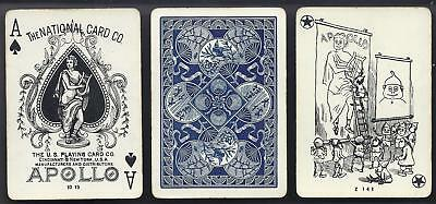 National Apollo Brand Playing Cards c1900