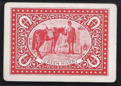 Green River Whiskey Advertising Playing Cards Black African Americans