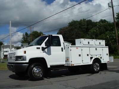 2003 Gmc 4500 Utility Service Truck A/c 45,391 Orig Miles Fully Refurbished Exce