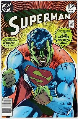 Superman #317 VF-NM Plus Classic Cover! Free US Priority Shipping!