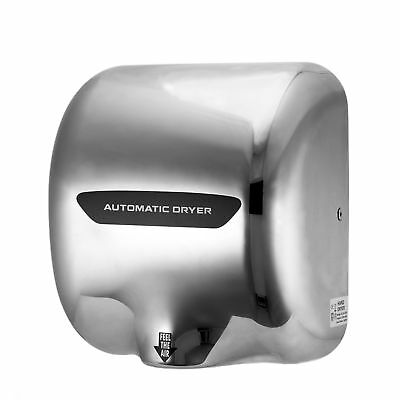 Electric Hand Dryer 1800W Stainless Steel Commercial Bathroom Nozzle