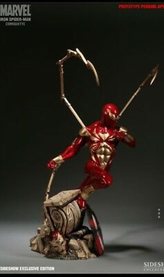 Iron Spider-Man Comiquette Sideshow Collectibles EXCLUSIVE Marvel Avengers