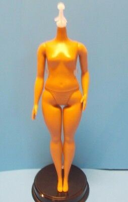 2017 Barbie Fashionista NUDE CURVY Doll #66 BODY ONLY For Parts Crafts OOAK 7882