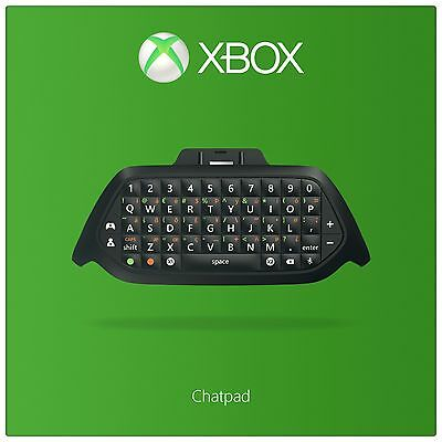 Xbox One Chatpad with Chat Headset. From the Official Argos Shop on ebay