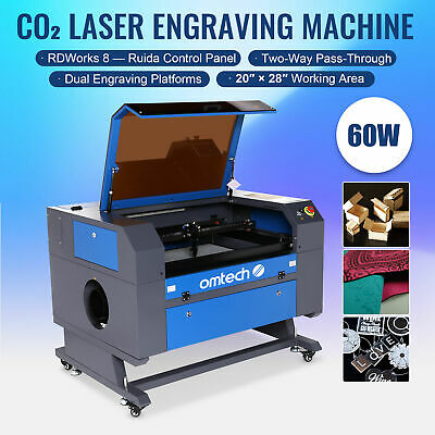 40W CO2 Laser Engraver w/Water-Break Protection Upgraded Control Board Hot