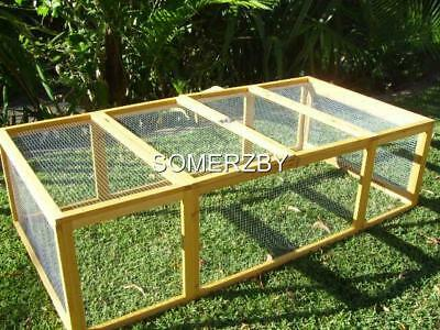 Chicken coop LARGE Run Guinea Pig Cage Villa Extension Rabbit hutch house
