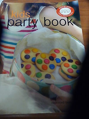 KIDS PARTY BOOK Bay Books Cookbook EUC