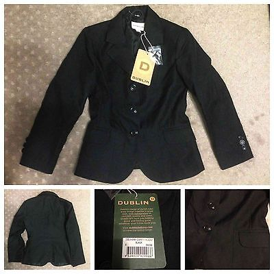 New Dublin Ashby childs show jacket, sz 8
