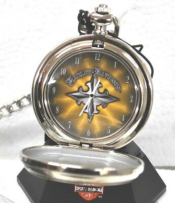 Franklin Mint Harley-Davidson Pocket Watch Edge  B11 F148
