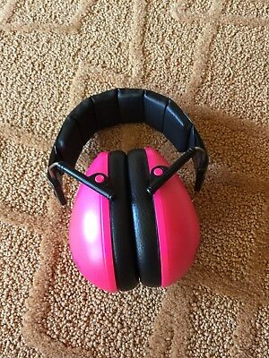 Baby Banz Pink Earbanz baby ear protecting noise cancellers