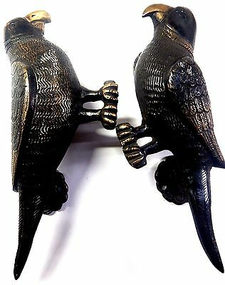 Parrot Bird Door Handle Antique Vintage Style Handmade Brass Door Pull  knob