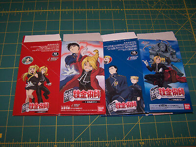 FullMetal Alchemist Carddass Masters #1 and 2 Anime Trading Cards: Complete Sets