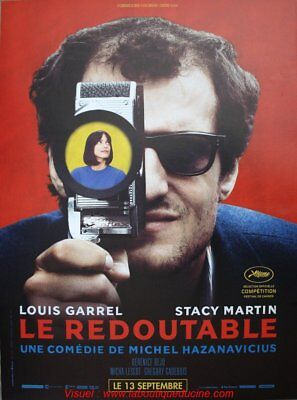 LE REDOUTABLE Affiche Cinéma Originale Movie Poster Michel Hazanavicius GODARD