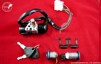 Ignition Switch Lock set for Chinese Retro type GY6 50 125 150 Scooter moped