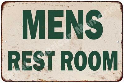 Conoco Men's Restroom  Vintage Look Reproduction Metal Sign 8x12 8123090