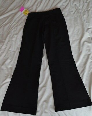 Girl's Trutex black bootcut school trousers 24 / 28 NEW