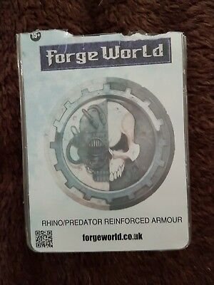 Warhammer 40K Forgeworld Space Marines extra armour upgrade kit Rhino Predator