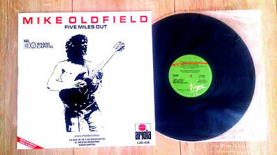 """Mike Oldfield """"five Miles Out"""" Extremely Rare Mexico Promo 12"""" Vinyl  1982 / New"""
