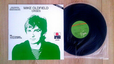 """Mike Oldfield """"crises"""" Extremely Rare Mexico Promo 12"""" Vinyl / Lp 1983 / New"""