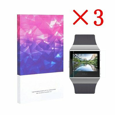 High Definition Ultra Clear Film Screen Protector for Fitbit  Lonic(3 Packs)