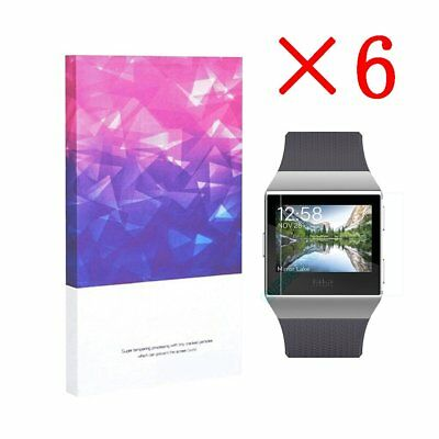 High Definition Ultra Clear Film Screen Protector for Fitbit  Lonic(6 Packs)