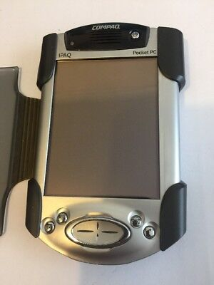 Compaq iPAQ Pocket PC H3970 Win Mobile 2002 400mhz with Cradle & AC Adapter