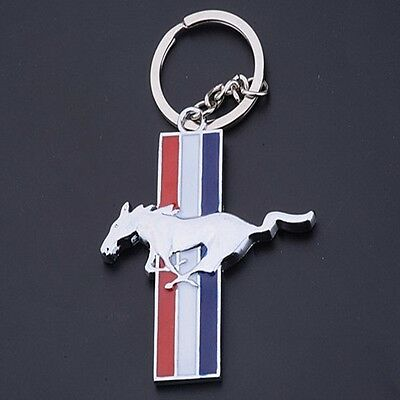 Metal Car Logo Sign keyring Keychain Pendant Key Holder Gift For Ford Mustang