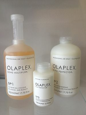 Olaplex No.1 No.2 No.3 15/50/30ml Repair your Damaged Over Processed Hair